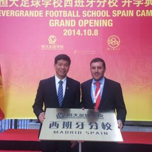 Liceo Europeo y Escuela de Futbol Evergrande
