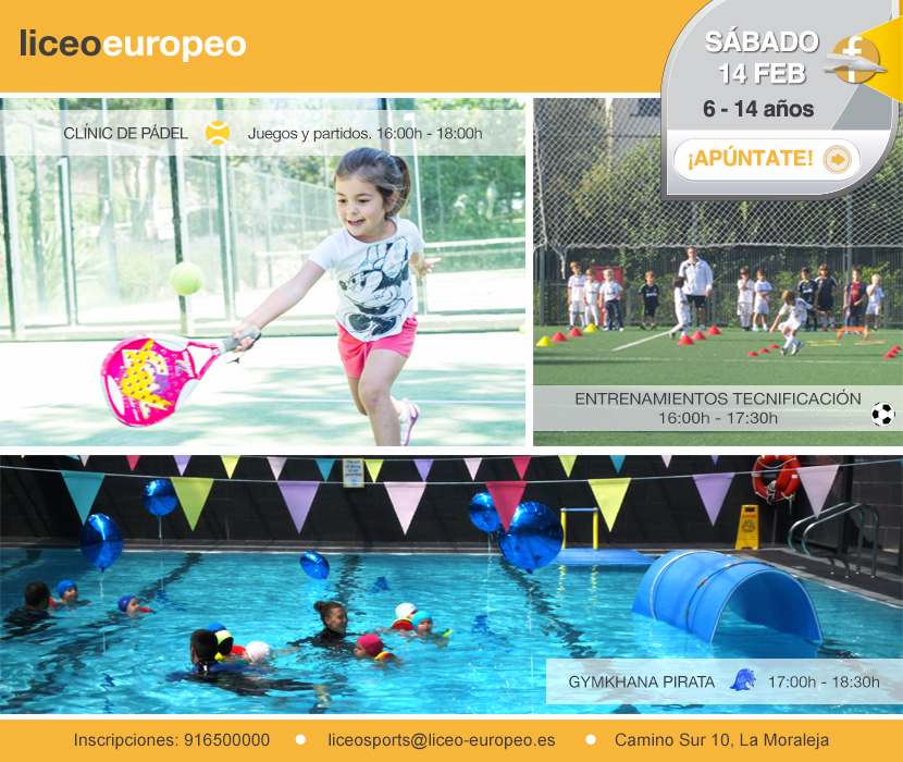 Triatlón Fundación Liceo Europeo