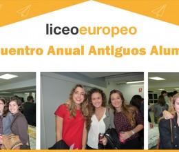 Encuentro Anual Antiguos Alumnos Liceo Europeo