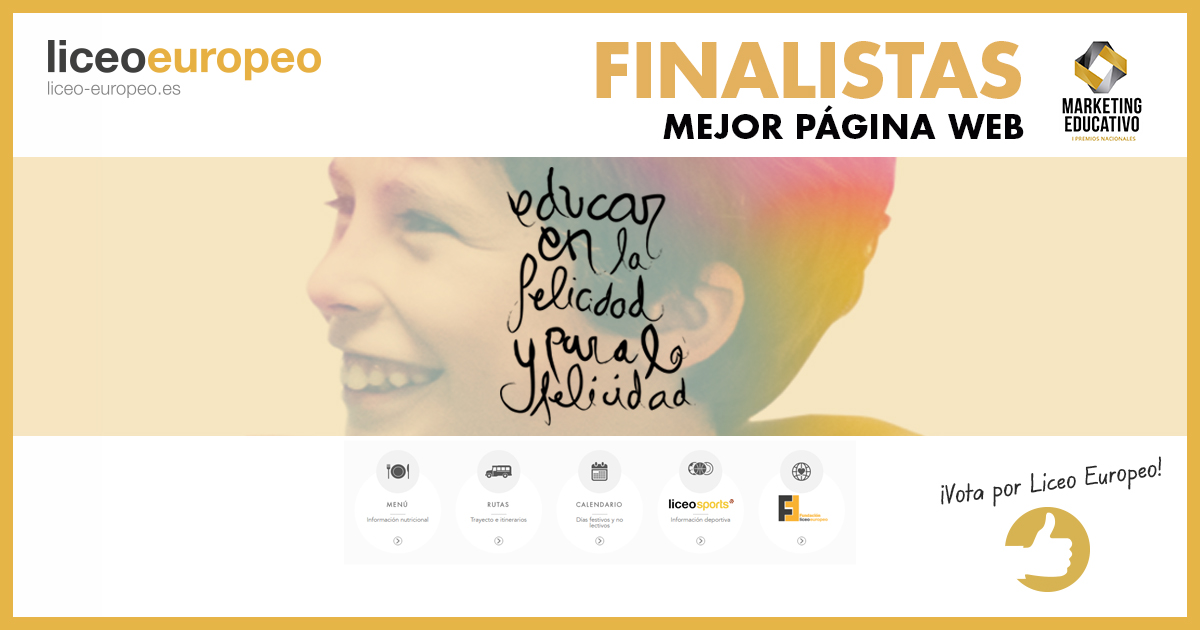 finalistas premios marketing educativo liceo europeo