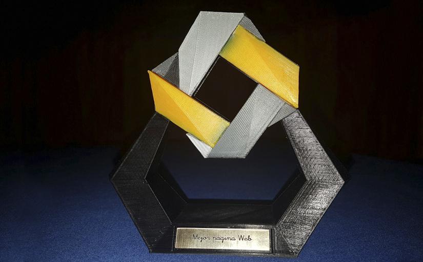 Premio a la mejor página web