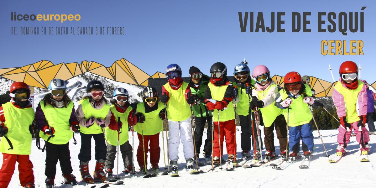 Viaje esqui Liceo Europeo