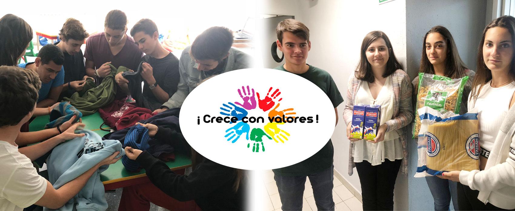 Acciones solidarias en Liceo Europeo