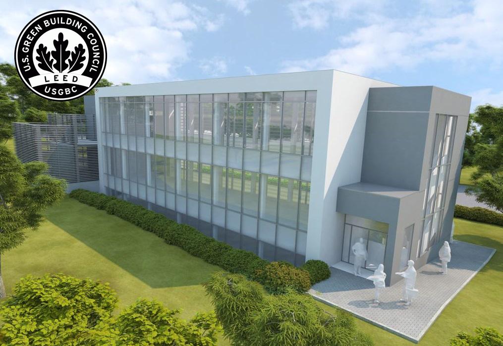 Edificio sostenible colegio Liceo Europeo